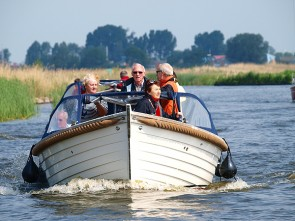 Friese Meren route per sloep