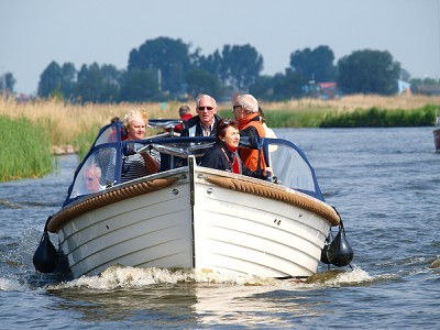 Frisian Lakes route by sloop