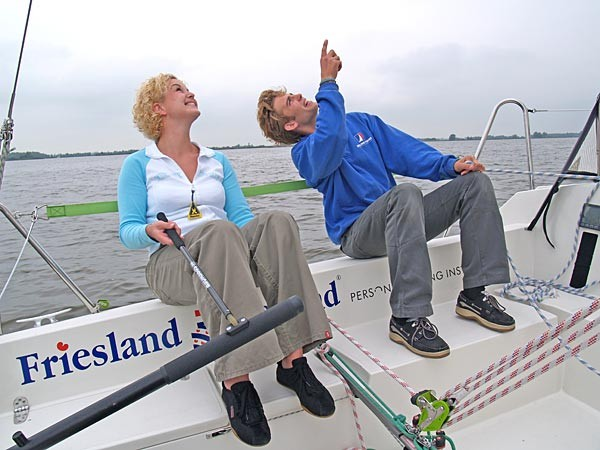 Sailing Instruction Holidays In Friesland Holland